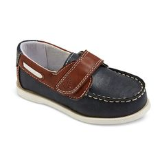 Just One You Toddler Boys' Jeffrey Boat Shoes - Navy 11, Toddler Boy's, Blue