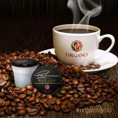 Rich Black Coffee + Organic Ganodrema= OG Black Gold Brewkups. Freshly brewed, all under a minute. Good Morning World!