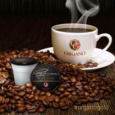 Rich Black Coffee + Organic Ganodrema= OG Black Gold Brewkups. Freshly brewed, all under a minute. Good Morning World!