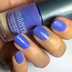 Pretty pumped that @stuckonlacquer used our lacquer in a tutorial! And as she said #JukeBoxJN is the perfect shade of blurple!  #Jamberry #Lacquer #Mani