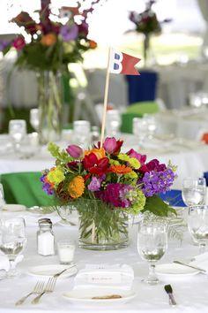 A Rainbow of Colors Fill This Fun & Festive Basin Harbor Club Wedding