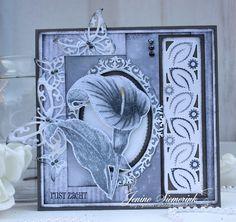 Jenine's Card Ideas: Condoleance kaart - Rust zacht