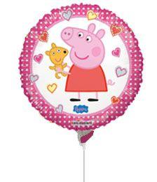 """42839704 Balão Personagem Peppa Y Osito - 4"""""""