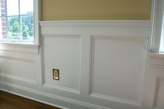 5 Delightful Tips: Wainscoting Height Board And Batten wainscoting dimensions.Wainscoting Stairs The Doors beadboard wainscoting living room. Picture Frame Wainscoting, Beadboard Wainscoting, Wainscoting Nursery, Dining Room Wainscoting, Wainscoting Panels, Wainscoting Ideas, Rustic Wainscoting, Bathroom Wainscotting, Installing Wainscoting