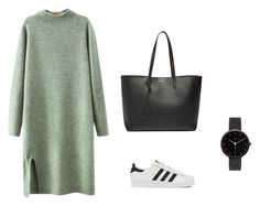 """""""Untitled #3"""" by tiril-solberg-1 on Polyvore featuring beauty, Chicnova Fashion, adidas, Yves Saint Laurent and I Love Ugly"""
