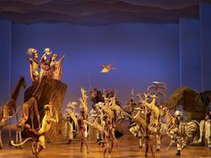 """Broadway's """"The Lion King"""" will release a virtual reality video of the show'sopening number, """"Circle of Life,"""" on a handful of digital platforms tomorrow morning, aiming to capitalize on the growi..."""