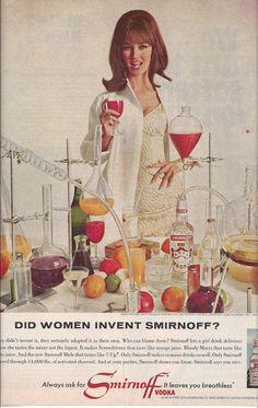 1967 McCall's Magazine Ad for Smirnoff Vodka  by VictorianWardrobe, $4.00