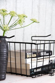 adore these wire baskets!
