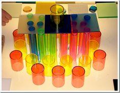 Pattern creation by children. Brilliant blog article on creativity!!
