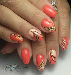 NagelDesign Elegant ( Gorgeous love the design Creative Nail Designs, Beautiful Nail Designs, Beautiful Nail Art, Nail Art Designs, Fall Nail Art, Glitter Nail Art, Elegant Nails, Stylish Nails, Fancy Nails
