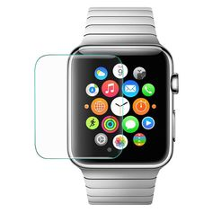 Apple Watch Tempered Glass Screen Protector (Pack of 2pcs)