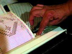 Como usar uma Cartela em máquina de tricô ELGIN
