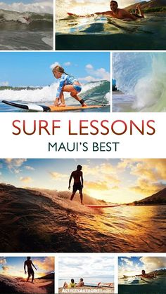 Whether it's your first attempt at standing up on a board or you're looking to increase your skills in one of the world's most renowned surfing destinations, a surf lesson is an excellent way to boost your confidence and skills in the ocean. #surfing #mauisurfing #maui #surfer #surflessons #mauisurflessons Hawaii Surf, Hawaii Travel, Surfing Destinations, Rip Current, Surf Companies, Water Surfing, Ocean Activities, Hawaiian Islands, Oahu