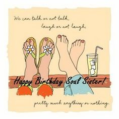 soul sister birthday wishes