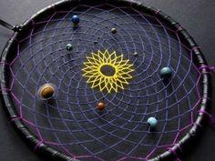Solar system dreamcatcher