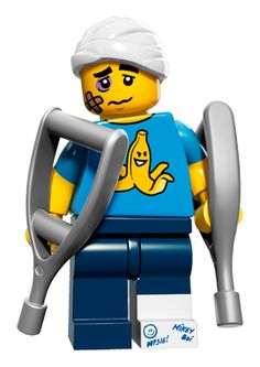 Lego Series 15 Minifigures 71011 minifigure clumsy-guy