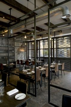 Dabbous (London), London restaurant / Brinkworth  Would sell my right arm to get a reservation there!