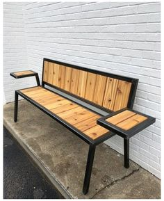 Portfolio — Rebuild Fabrication Co. - Portfolio — Rebuild Fabrication Co. Portfolio — Rebuild Fabrication Co. Welded Furniture, Industrial Design Furniture, Iron Furniture, Steel Furniture, Pallet Furniture, Furniture Projects, Furniture Design, Metal And Wood Bench, Metal Chairs