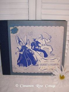 Vintage Musicraft Records 1940's Gems from Gilbert Sullivan Classical Victrola | eBay