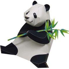 Panda - Other Animals - Animals - Paper CraftCanon CREATIVE PARK