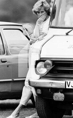 Princess Diana. Rare photo.