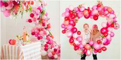 arco con globos - fiesta - cumpleaños