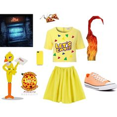 Five nights at freddy's Chica cosplay