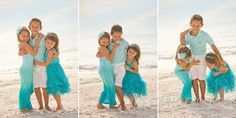 Beach Family Picture Outfit Ideas | ... Contemporary Wedding Photography} | Marco Island Family Beach Session