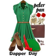 Peter Pan Dapper Day, created by hatandmouse on Polyvore