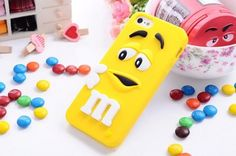 FiveBox Lovely Cartoon Mouth-open M & M's Chocolate Candies Style Fragrant Soft Silicone Case Cover Compatible for Iphone 5 5g 5s (yellow) LliVEER http://www.amazon.com/dp/B00EZ0EBQA/ref=cm_sw_r_pi_dp_iAWRub0EDRBEC