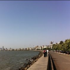 My favorite place on earth - Marine Drive, Bombay