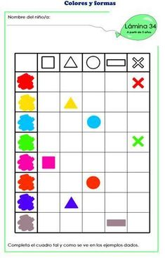 1 million+ Stunning Free Images to Use Anywhere Color Worksheets For Preschool, Preschool Writing, Kindergarten Activities, Activities For Kids, Visual Perception Activities, Montessori Trays, Act Math, Act For Kids, Guided Math