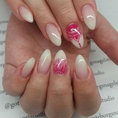 French fade nails by Goteborgs Nagelstudio