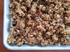 Check this to learn how to make Gluten free Nut free Honey Granola 6740 , Category: Sweets ,User name: savannahbee, Date: Tue, 16 Jul 2013 - Healthy Food Network Gluten Free Granola, Gluten Free Snacks, Gluten Free Breakfasts, Gluten Free Diet, Foods With Gluten, Gluten Free Recipes, Healthy Baking, Healthy Eats, Healthy Meals For One