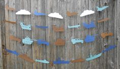Military Vehicle Garland. CHOOSE Your VEHICLES & COLORS.