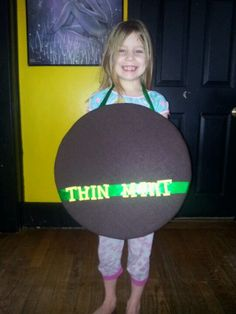 Thin mint sandwich board for Girl Scout Cookie booths