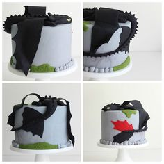 Jack+Hunter - How to Train Your Dragon cake