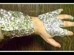 tratamiento para muchas enfermedades El asombroso poder del papel de aluminio - YouTube