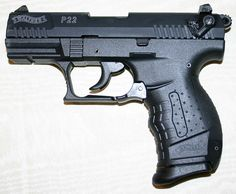Walther p22 - I own this gun, and I enjoy shooting it. I am also in favor of stricter gun laws and controls.