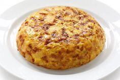 Tortilla de patatas esponjosa
