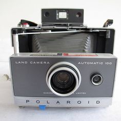 Polaroid 100 Land Camera now featured on Fab.