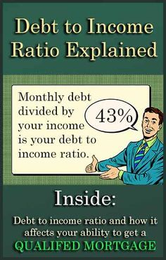 In order to get a Qualified Mortgage with the best terms and rates, you need to understand your debt-to-income ratio. Learn more and save big. http://www.swohiorealestate.com/blog/home-loans-debt-to-income-ratio.html #Mortgages #realestate