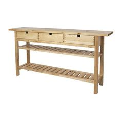 IKEA - NORDEN, Occasional table, Solid wood, a hardwearing natural material.