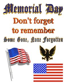 memorial day is when