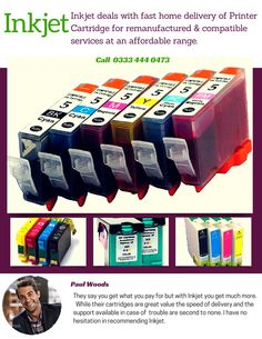 Looking for Discount printer cartridges? Buy the cheapest #PrinterCartridge and low cost toner cartridges with a money back warranty right here at Inkjet. You have found the MOST affordable site for new generic printer cartridges and Re-manufactured Printer Cartridges online featuring our superb quality made in the UK.