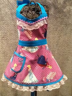 NEW Toddler Elsa and Anna Frozen handmade by MothersApronString