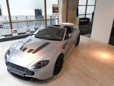 Boodles, Bang & Olufsen, Alexander & James and Aston Martin team up for the very glamorous launch of the new Aston Martin Vantage S Roadster. Aston Martin V12 Vantage, New Aston Martin, Bang And Olufsen, Product Launch, Glamour, The Shining