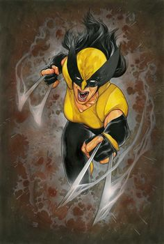 X-Men Red cover art by Travis Charest and. Marvel Comic Books, Marvel Art, Marvel Characters, Comic Books Art, Book Art, All New Wolverine, Wolverine Art, Comic Pictures, Guy Pictures