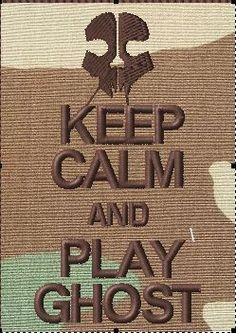 OML Patches - Keep Calm and play ghost (COD), $6.99 (http://www.omlpatches.com/keep-calm-and-play-ghost-cod/)