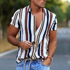 Summer Outfits Men, Casual Outfits, Men's Beach Outfits, Men's Summer Clothes, Summer Men, Spring Summer, Stylish Men, Men Casual, Casual Tops